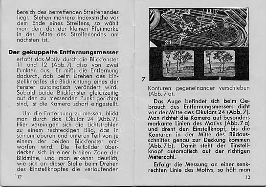 Entfernungsmesser Mit Sucher : Anleitung einer voigtländer bessa mit entfernungsmesser reproduktion